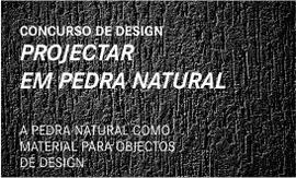 A PEDRA NATURAL COMO MATERIAL PARA OBJECTOS DE DESIGN